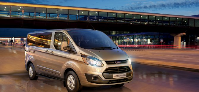 Otomatik şanzımanlı yeni Ford Tourneo satışa sunuldu