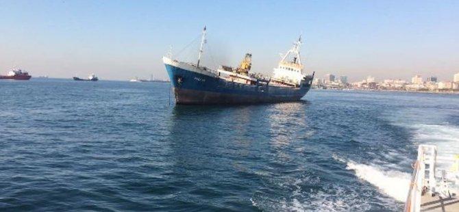 Armatörü batan sahipsiz gemi satılıyor