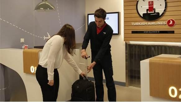 THY, yolcu bagajlarını otelden de alacak