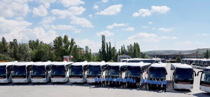 Pamukkale Turizm, Bayram'a 22 MAN otobüs alarak giriyor