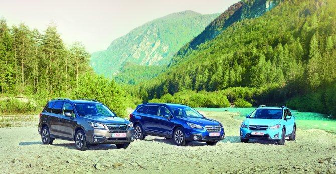 Subaru, dünyanın en çok 4x4 satan markası oldu