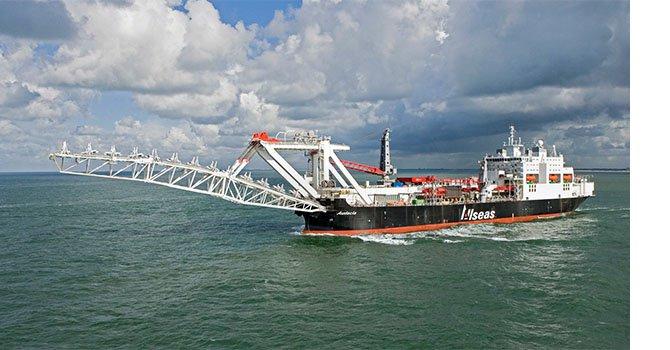 TürkAkım'da derin deniz boru inşaatı başladı