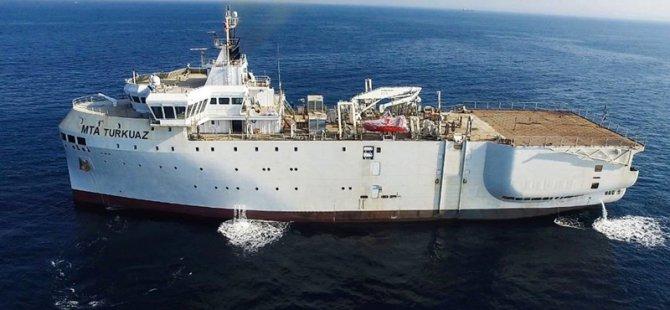 MTA Oruç Reis sismik tarama gemisi hizmete girdi