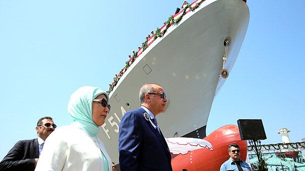 Erdoğan: Sırada uçak gemisi  yapmak var
