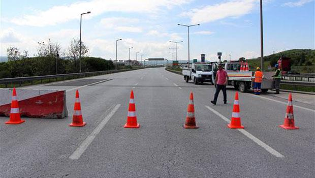 TEM Bolu Dağı Tüneli geçidi trafiğe kapatıldı