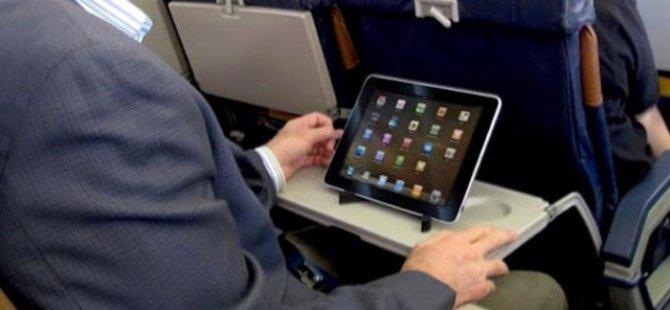 ABD uçuşlarında tablet yasağı kalktı
