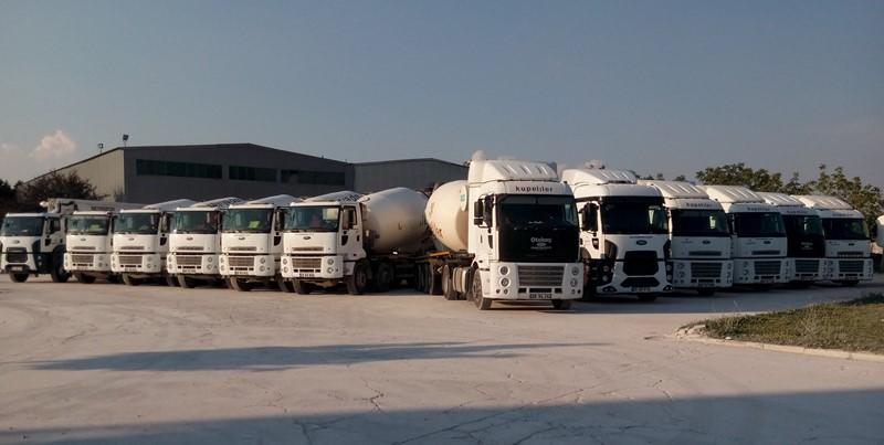Otokoç'tan Küpeliler A.Ş'ye araç teslimatları