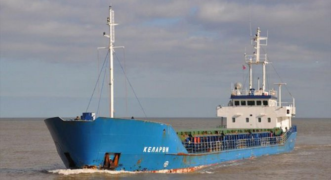 Türk gemisi Seccadi Liverpool'da tutuklu