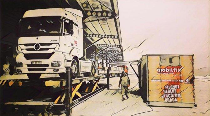 Brisa'nın mobil TIR servisi Mobilfix, Anadolu'ya hizmet veriyor