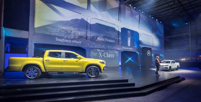 Mercedes pick-up araçlarını kamuoyuna tanıttı