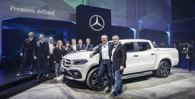 Mercedes'in pick-up'ta Türkiye hedefi yüzde 10