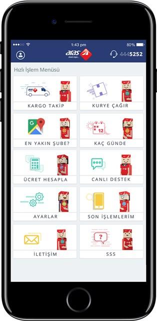 Aras Kargo, yeni mobil uygulamasıyla hayatı kolaylaştırdı