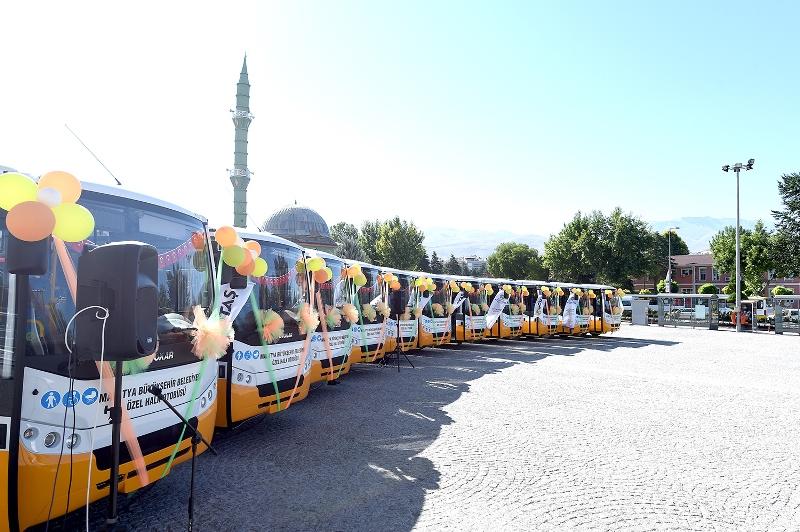 """Malatya toplu ulaşımında """"Sultan City"""" dönemi"""