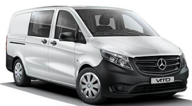 Mercedes-Benz Vito Mixto  89.967 TL'den satışta