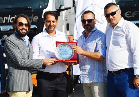 Efe Logistics Group, 60 MAN çekici-kamyon aldı