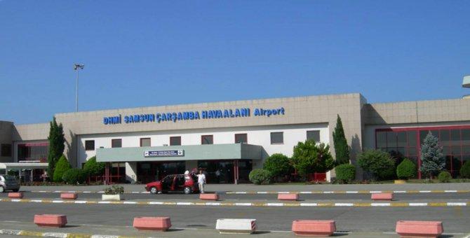 Samsun havalimanı 3 ay kapalı kalacak