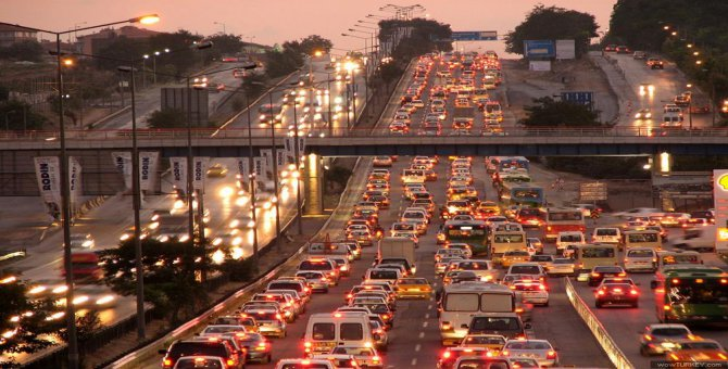 Trafiğe kayıtlı araç sayısı yüzde 0.4 arttı