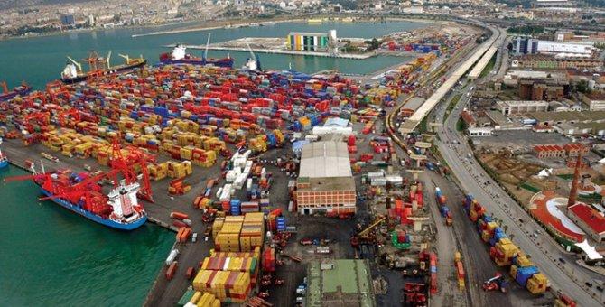 Aliağa, konteynerde İzmir Limanı'nı geçti