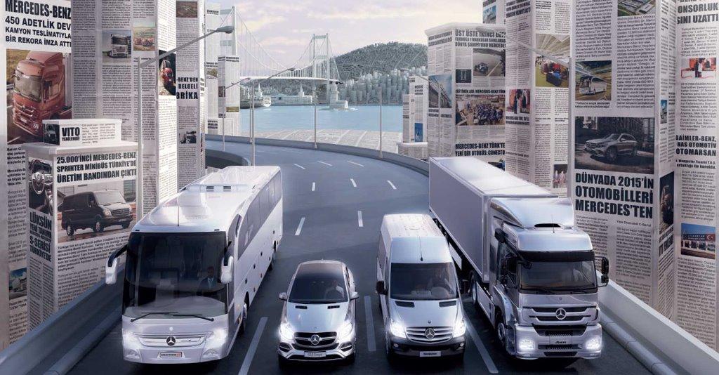 Mercedes'ten kamyon ve otobüste özel fırsatlar