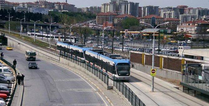 Zeytinburnu tramvay hattı yerin altına iniyor