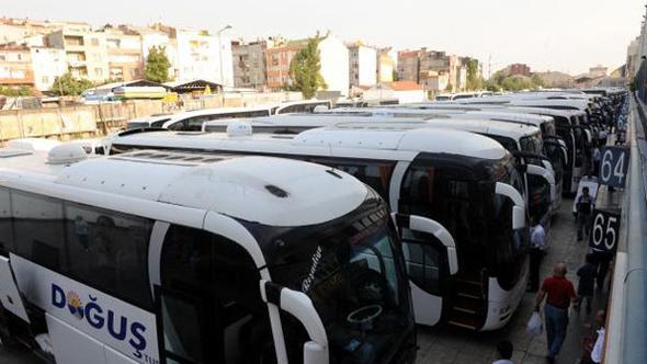 B2 ve D2 belgeli otobüslere de bayramda izin çıktı