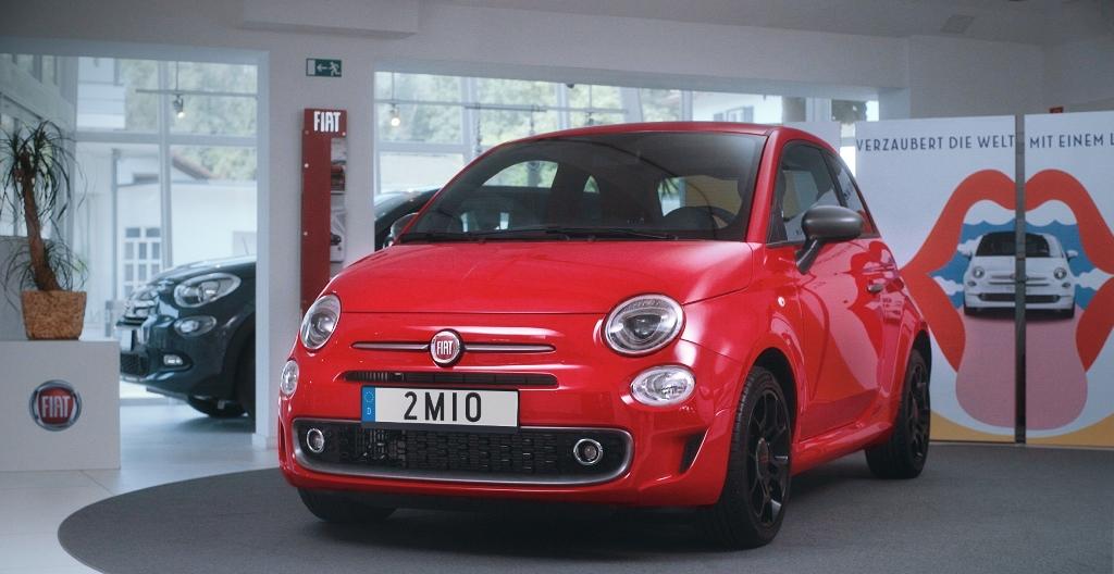 2 milyonuncu Fiat 500 sahibini buldu