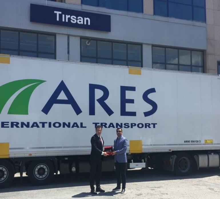 """Ares Transport, intermodalde """"daha fazla güç"""" için TIRSAN dedi"""