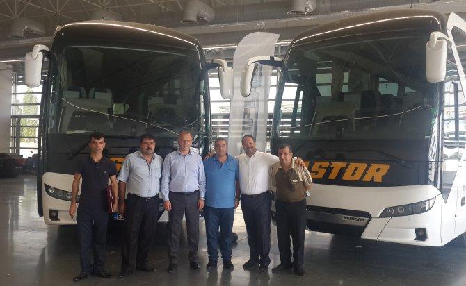 Urfa Astor filosuna 2 NEOPLAN Tourliner kattı