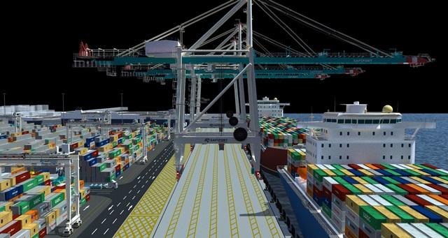 Safiport'un yeni terminal yatırımı tamgaz sürüyor