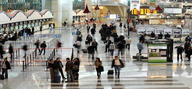 Havayolunda yolcu sayısı 127 milyonu geçti