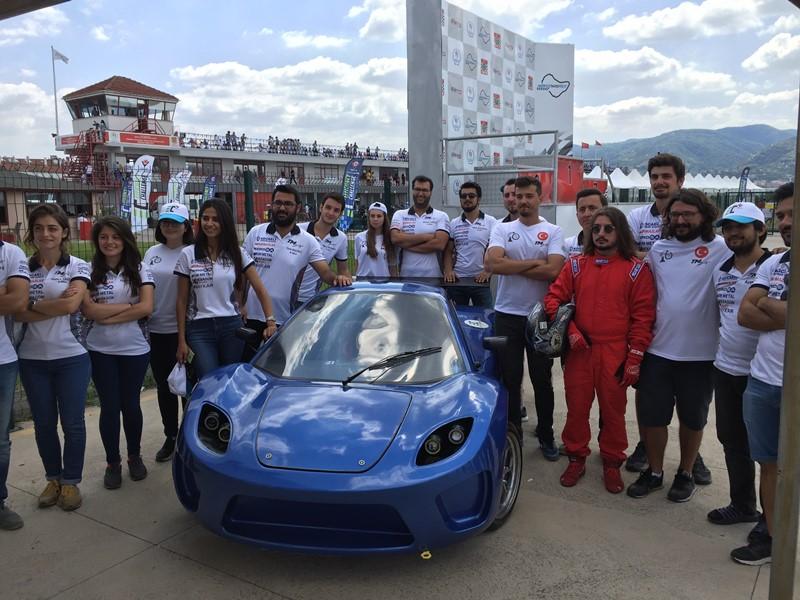 Kordsa'nın sponsor olduğu Mekatronik Takımı birinci oldu