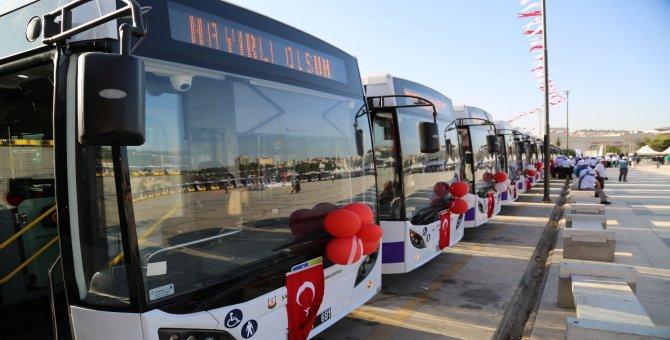Şanlıurfa belediyesi filosuna 62 yeni TEMSA kattı