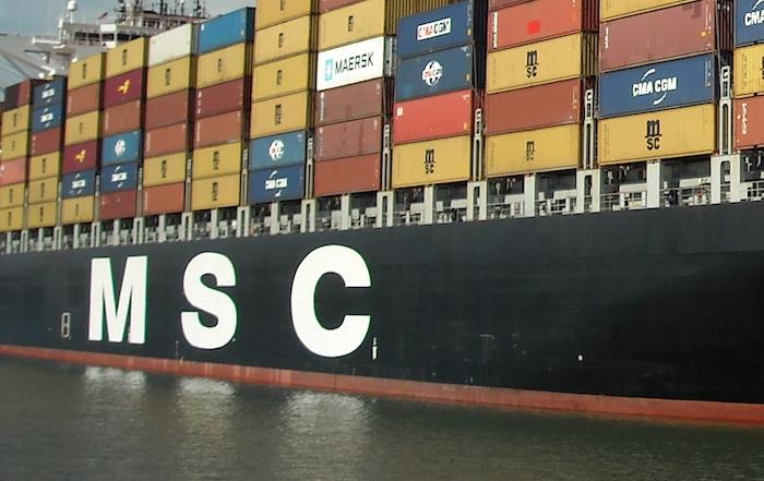 Ağustosun en çok tercih edilen konteyner operatörü MSC
