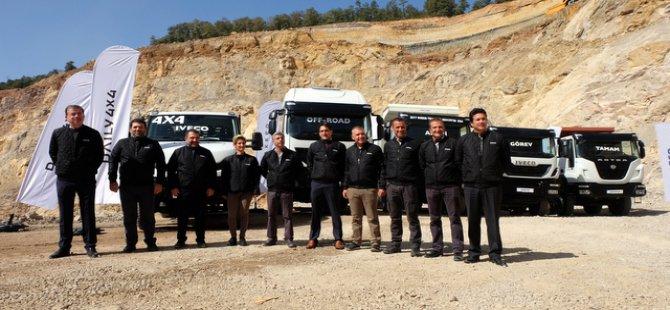 IVECO inşaat ve ağır hizmet kamyonlarını tanıttı
