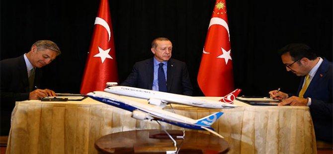 THY'den Boeing'e 40 uçaklık sipariş