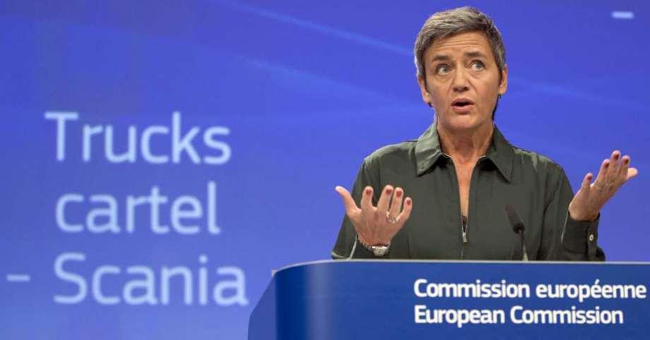 Scania'ya 880.5 milyon Euro kartel cezası