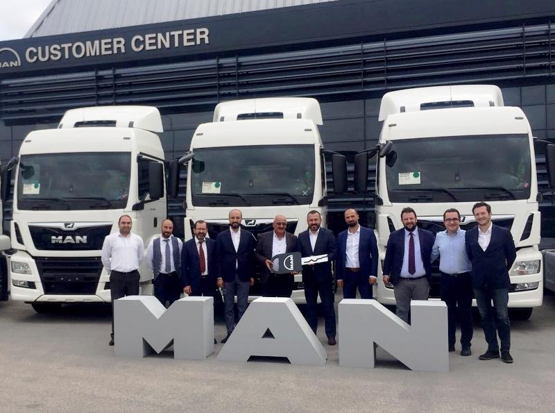 Ankara Nakliyat filosuna 10 MAN çekici
