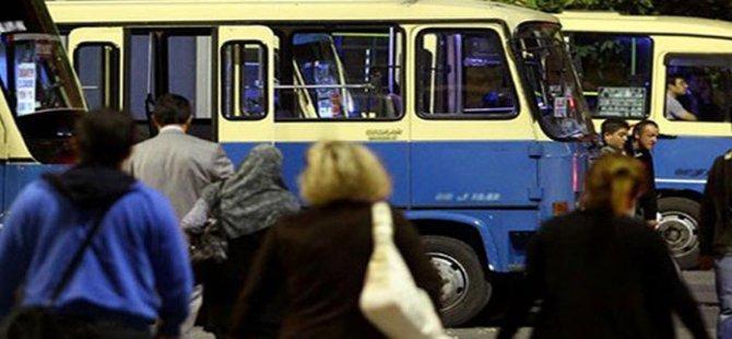 İstanbul'da minibüslere zam