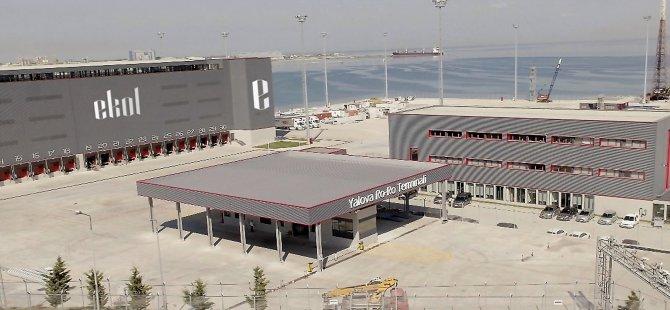 Ekol, Yalova Ro-Ro Terminali'ni hizmete açtı