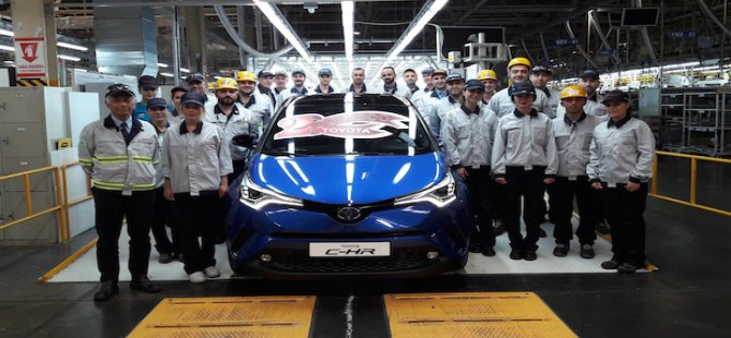 Toyota Türkiye, 2 milyonuncu aracını üretti