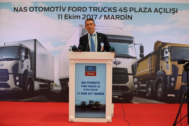 Ford Trucks, bir 4S Plaza da Mardin'de kuruyor