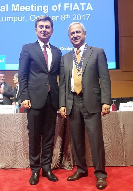 Turgut Erkeskin, FIATA Başkanlık Divanı'na seçildi