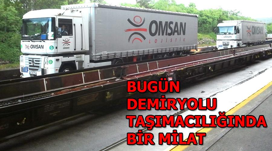 OMSAN, 15 lokomotif 350 ile vagon ile başlıyor