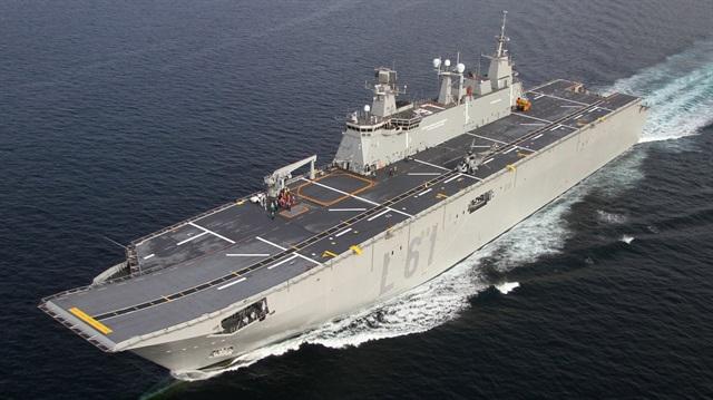 Türkiye'nin uçak gemisine TBMM onayı