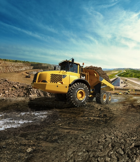Michelin'den inşaat ve madenciliğe özel ekstra dayanıklı lastik