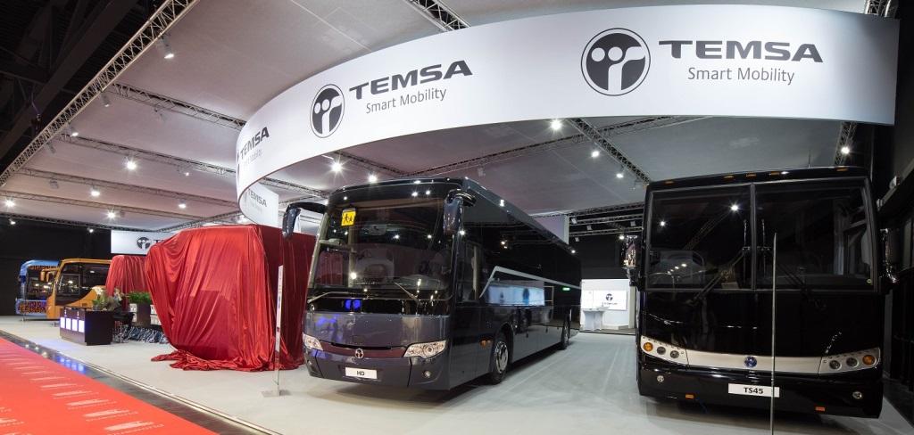Temsa'dan Avrupa pazarına yepyeni 2 otobüs