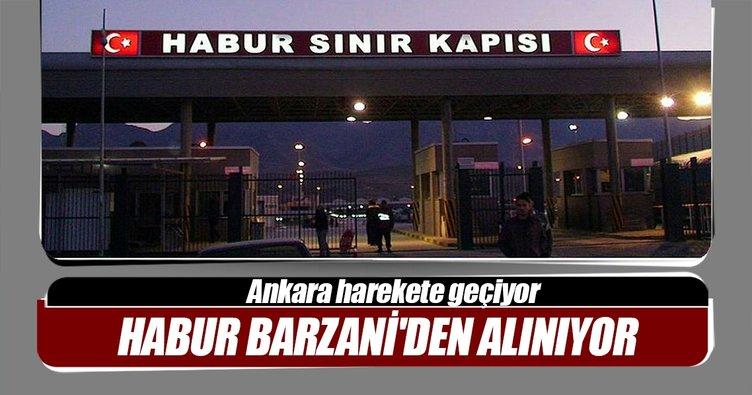 Habur, Barzani'den alınıyor