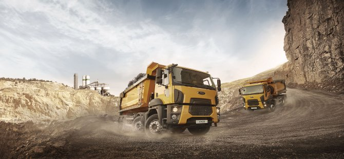 Yenigün İnşaat, Afrika'daki şantiyesinde Ford Trucks kullanacak