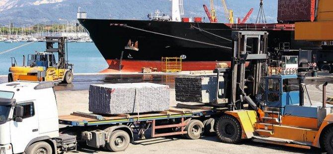 Mermerciler konteyner krizini açık gemi ile çözdü