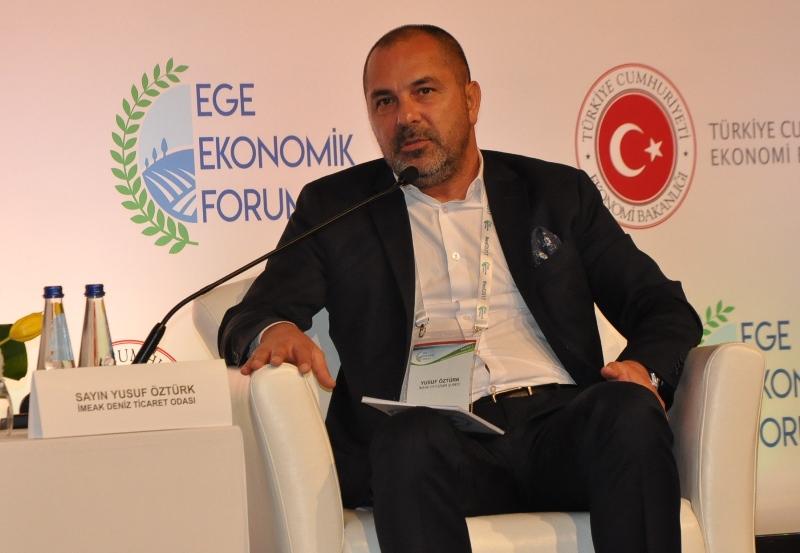 """""""Yeni İpekyolu'nda Ege mutlaka yer almalı"""""""